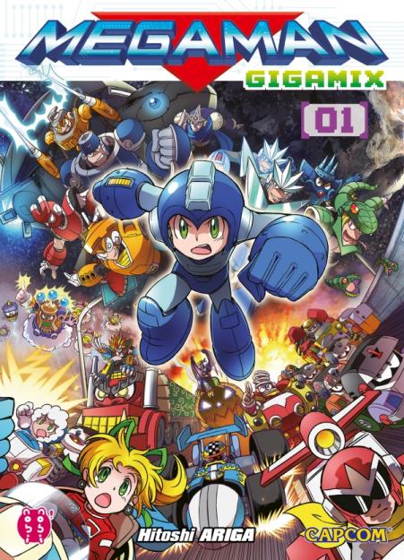 Megaman Gigamix T01