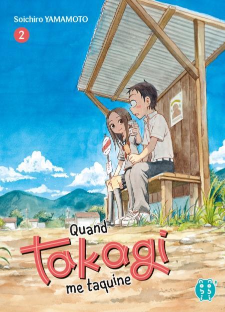 Quand Takagi me taquine T02