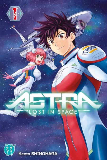 couverture du volume 1 d'Astra - Lost in space