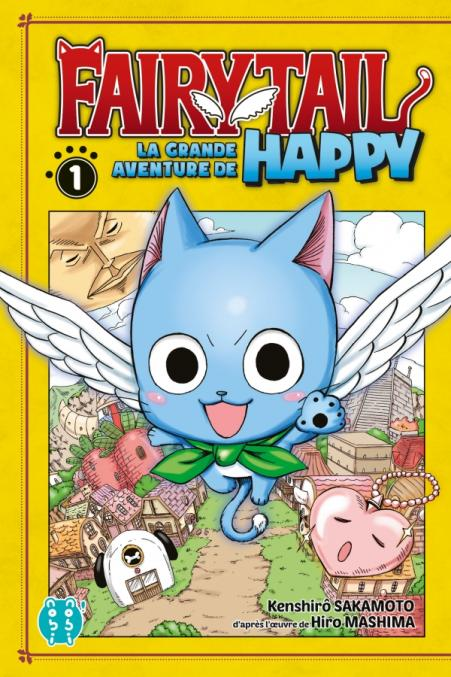 Couverture Fairy Tail La grande aventure de Happy volume 1