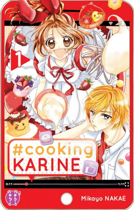 couverture de #Cooking Karine tome 1