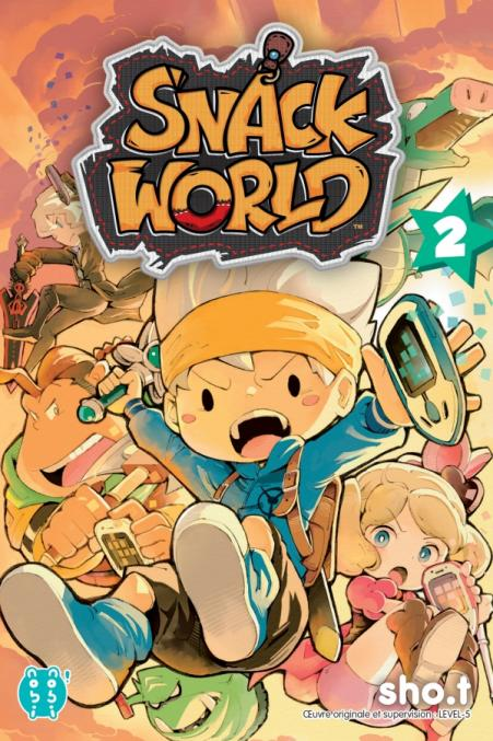 Snack World T02