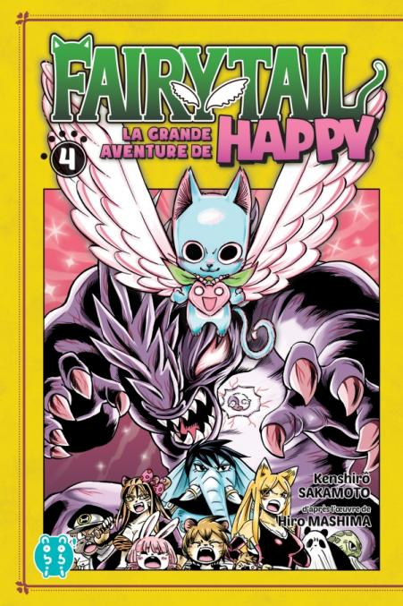 Fairy Tail - La grande aventure de Happy T04