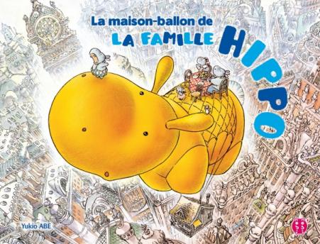La maison-ballon de la famille Hippo
