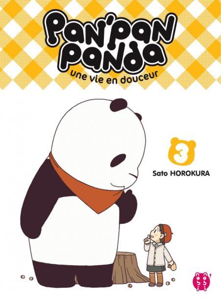 Pan'Pan Panda, une vie en douceur T03